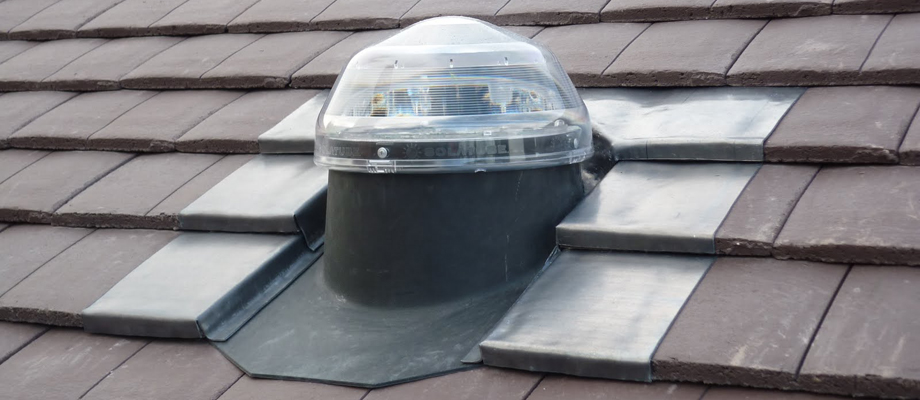 Sun Pipe Roof Installation