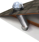 Solatube Daylighting System with Dome, Tunnel and Diffuser