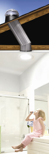 Bathroom Sun Pipe Installation