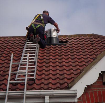Sun Pipe Installation Light Tube Roof