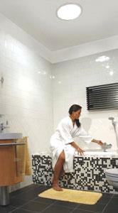 Sun Pipe Bathroom Installation