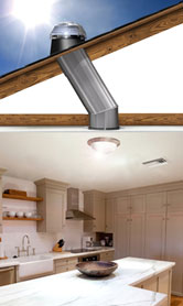 Sun Pipe Kitchen Roof